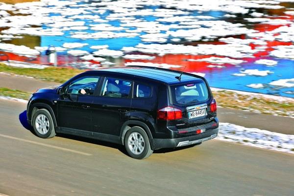 Zawieszenie Chevroleta zapewnia wysoki komfort jazdy. 16-calowe koła to optymalny wybór.