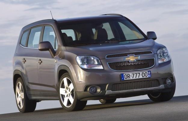 Chevrolet Orlando nie sprzeda się najlepiej /