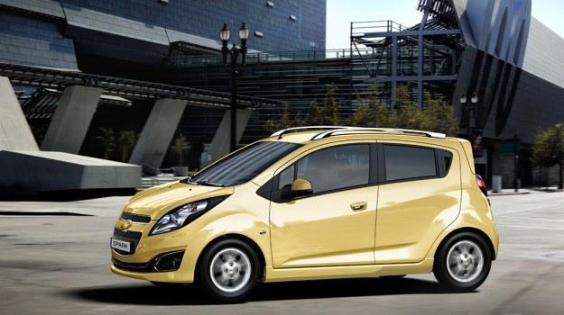 Chevrolet Spark zadebiutował w 2009 roku. /Chevrolet