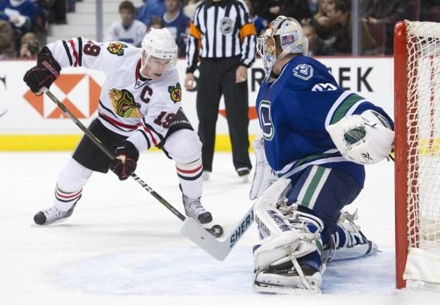 Chicago Blackhawks rozgromili Vancouver Canucks 7-1 /AFP