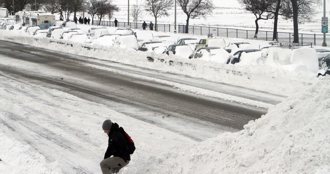 Chicago sparaliżowane przez śnieżycę