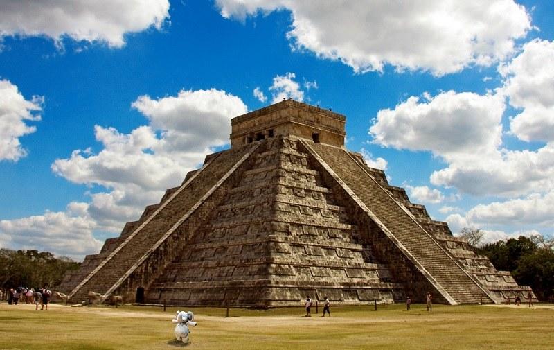 Chichén Itzá w Meksyku /earlyamerican /imgur.com