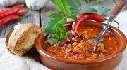 Chili con carne z papryką i kolendrą