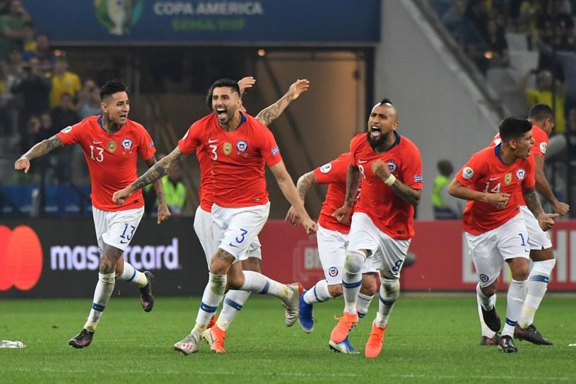 Chilijczycy świętują awans /AFP