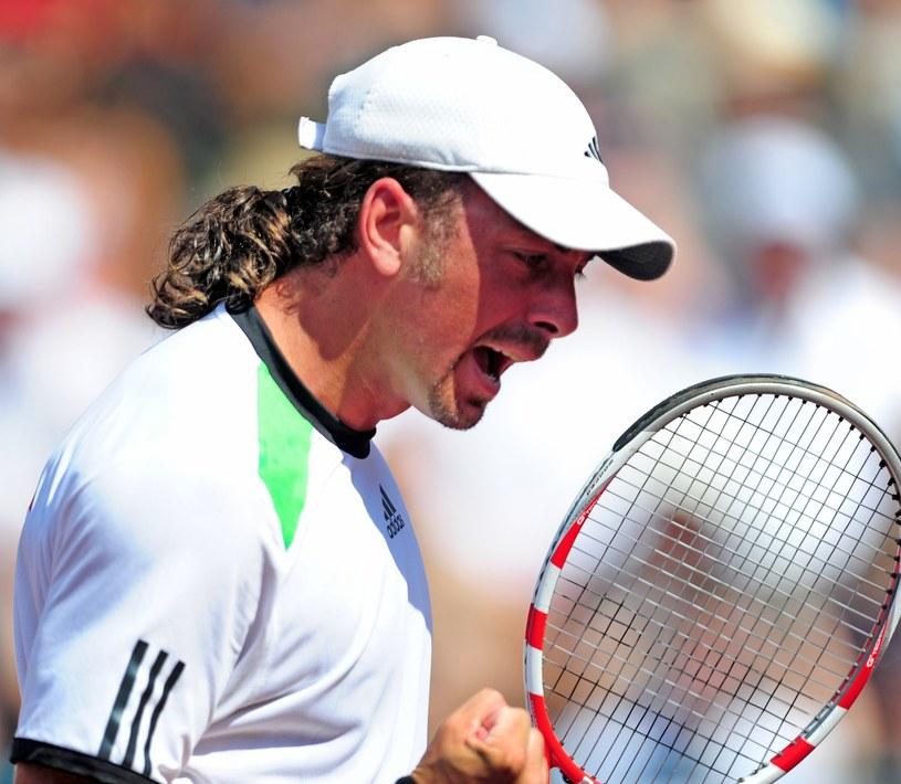 Chilijski tenisista Nicolas Massu /AFP
