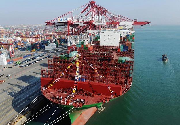 China Shipping Container Lines jeden z największych kontenerowców na świecie /AFP