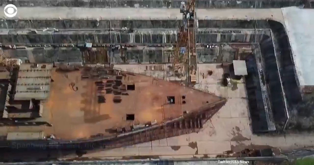 Chińczycy budują własnego Titanica. Ten okręt nigdy nie zatonie