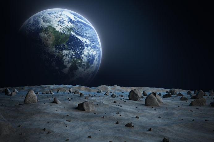 Chińczycy chcą prowadzić z Księżyca radarowe obserwacje Ziemi /123RF/PICSEL