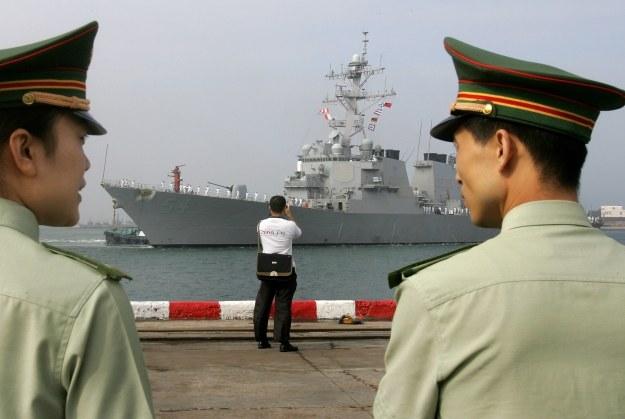 Chińczycy czekają na przybycie amerykańskiego niszczyciela typu AEGIS /AFP