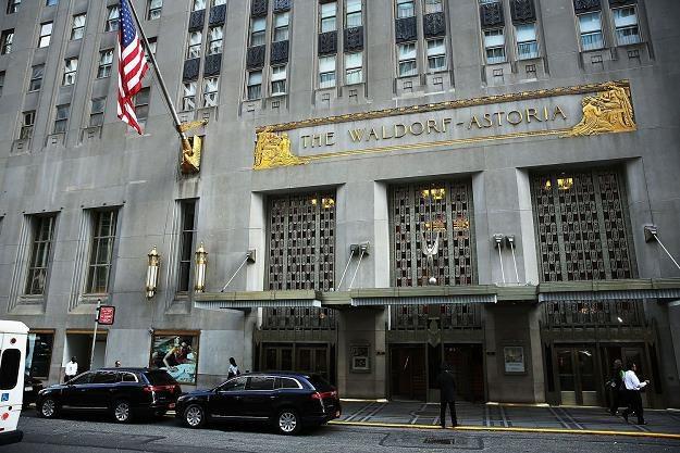 Chińczycy kupili słynny hotel Waldorf Astoria /AFP