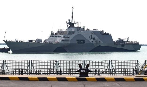 Chińczycy mają plany budowy m.in. takiego okrętu /AFP