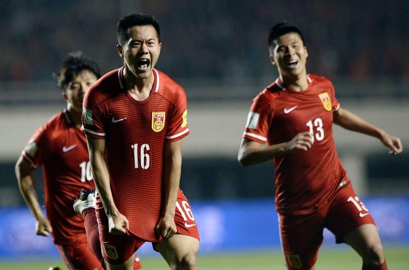 Chińczycy marzą o sukcesie na mundialu /AFP