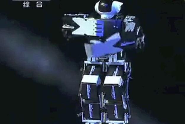 Chińczycy przywitali Nowy Rok z pomocą robotów /materiały prasowe