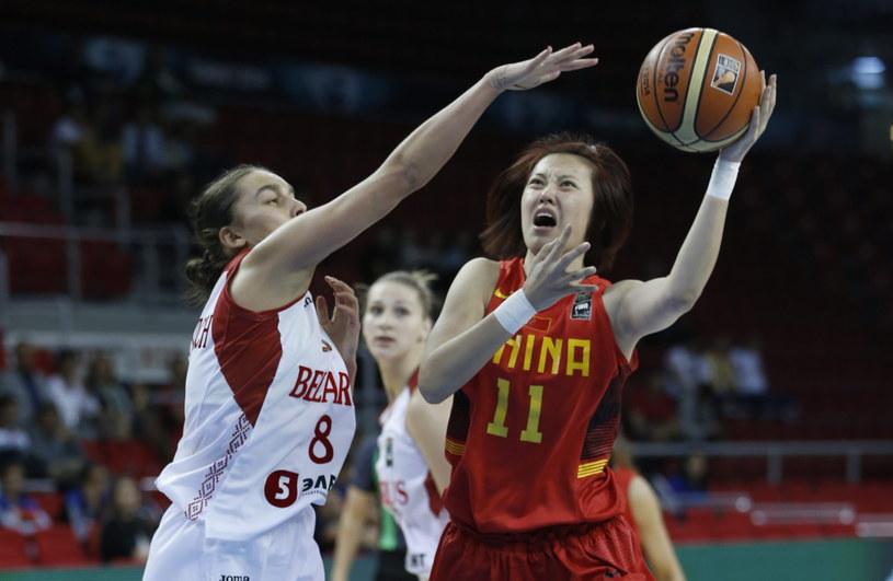 Chinki pokonały Białoruś /AFP