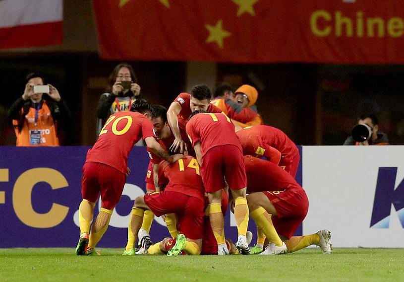Chińscy piłkarze /AFP