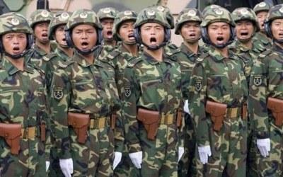 Chińska armia w Tybecie - zdjęcie /CDA