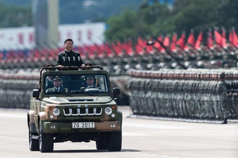 Chińska armia. /AFP