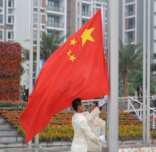 Chińska flaga /Guo Yong/B950/Photoshot /PAP/EPA