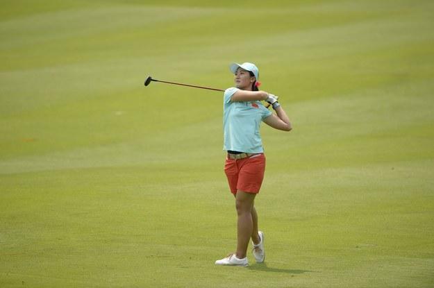 Chińska golfistka Lin Xiyu /AFP