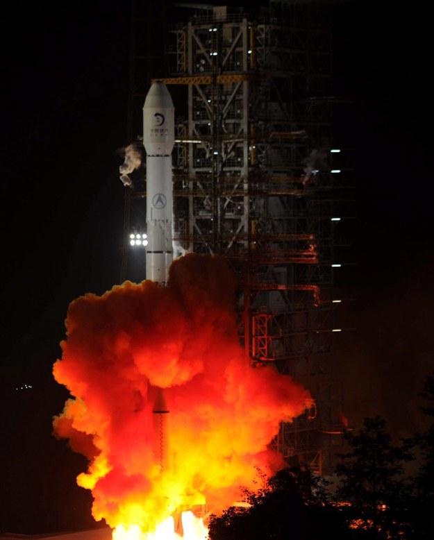 Chińska sonda dotarła na Księżyc