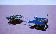 Chiński łazik na Marsie. Będzie szukał oznak życia