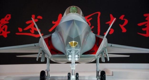Chiński myśliwiec piątej generacji /AFP
