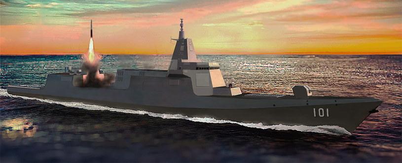 Chiński niszczyciel Type 055 /Wikipedia