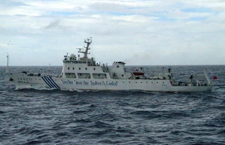 Chiński okręt /AFP