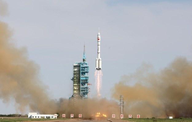 Chiński podbój kosmosu trwa w najlepsze /AFP