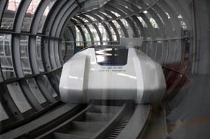 Chiński super-maglev pojedzie z prędkością 600 km/h