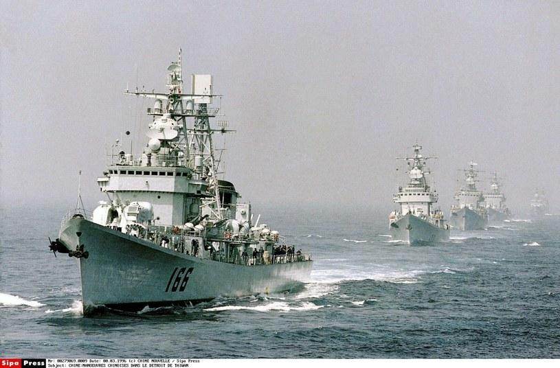 Chińskie okręty /CHINE NOUVELLE/SIPA /East News