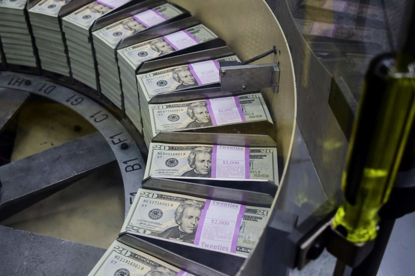 Chiny boją się dewaluacji dolara /AFP