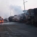 Chiny: Eksplozja w pobliżu zakładu chemicznego zabiła 22 osoby