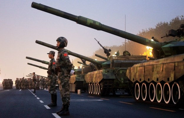 Chiny mają ogromne ambicje /AFP