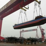 Chiny mają pierwszy elektryczny statek towarowy