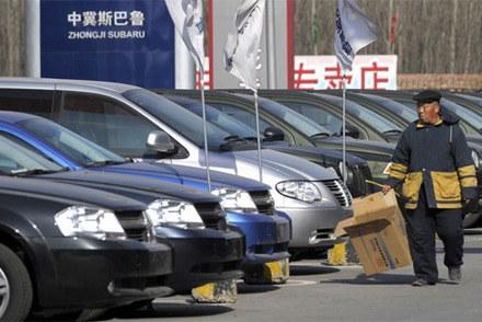 Chiny mogą pochwalić się 28-proc. wzrostem sprzedaży /AFP
