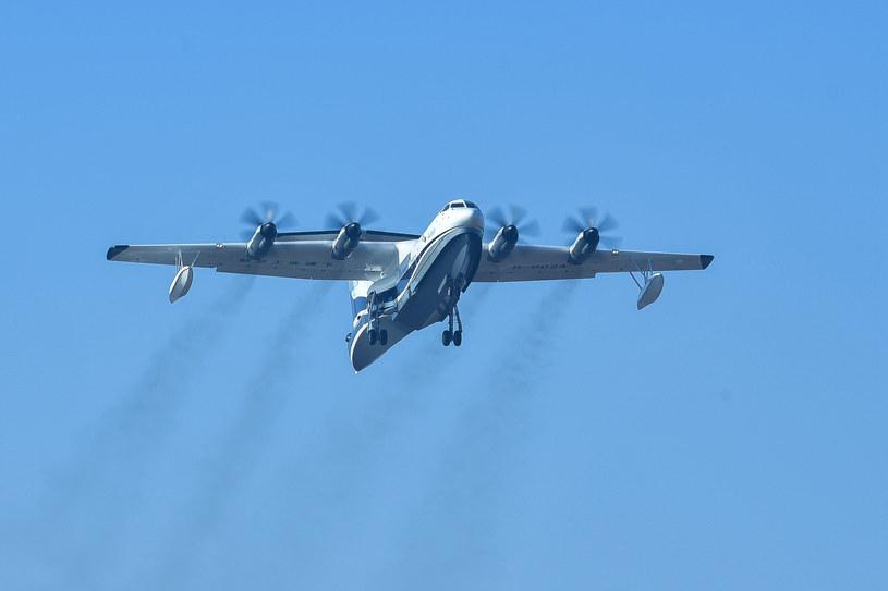 Chiny opracowują hydroplan AG600 /AFP