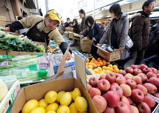 Chiny są największym konsumentem artykułów spożywczych na świecie /AFP