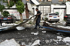 Chiny: Tornada zabiły co najmniej 10 osób
