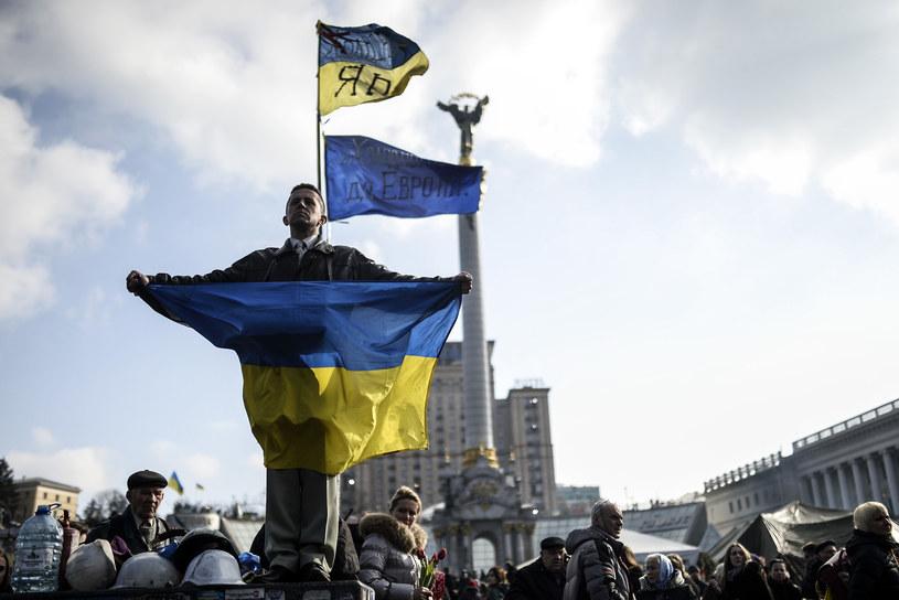 Chiny z uwagą przyglądają się sytuacji na Ukrainie. /AFP