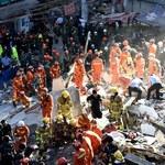 Chiny: Zawaliły się cztery budynki, nie żyją 22 osoby
