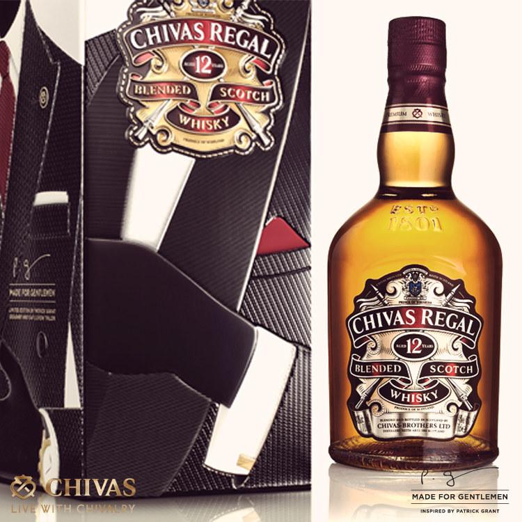 Chivas Regal Made for Gentlemen by Patrick Grant /materiały prasowe