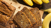 Chlebek bananowo-orzechowy