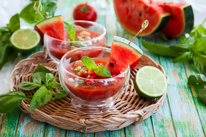 Chłodnik pomidorowy /123RF/PICSEL