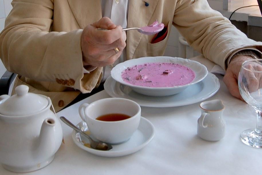 Chłodnik to idealna zupa na gorące dni /Brusová Hana /PAP/EPA