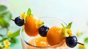 Chłodnik z melona oraz pomarańczy