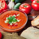 Chłodnik z pomidorami i papryką