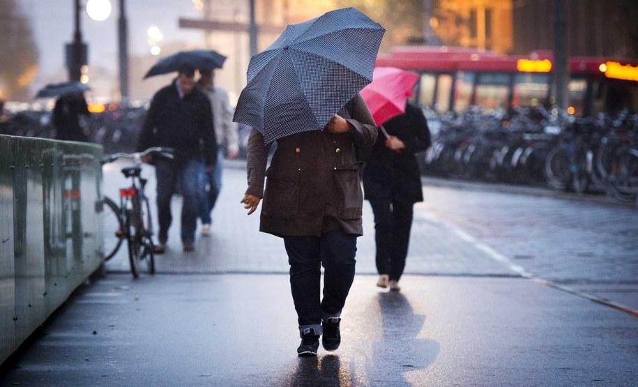 Chłodno i deszczowo /REMKO DE WAAL (PAP/EPA) /PAP/EPA