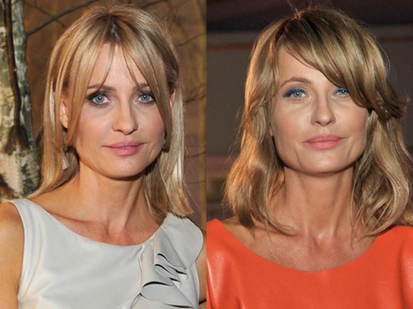 Chłodny blond i blond z czerwoną poświatą były kolorami chybionymi /AKPA
