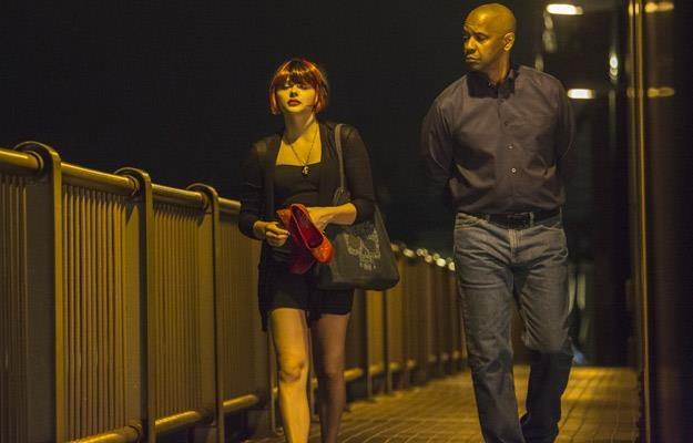 """Chloë Grace Moretz i Denzel Washington w filmie """"Bez litości"""" /materiały prasowe"""